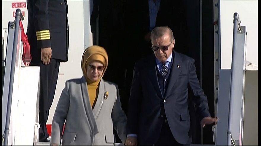 Эрдоган в Афинах: беженцы, граница, ЕС