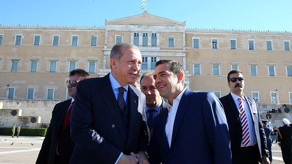 Erdogan en Grèce : visite historique mais tendue