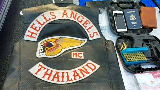 Hells Angels detidos pela polícia tailandesa