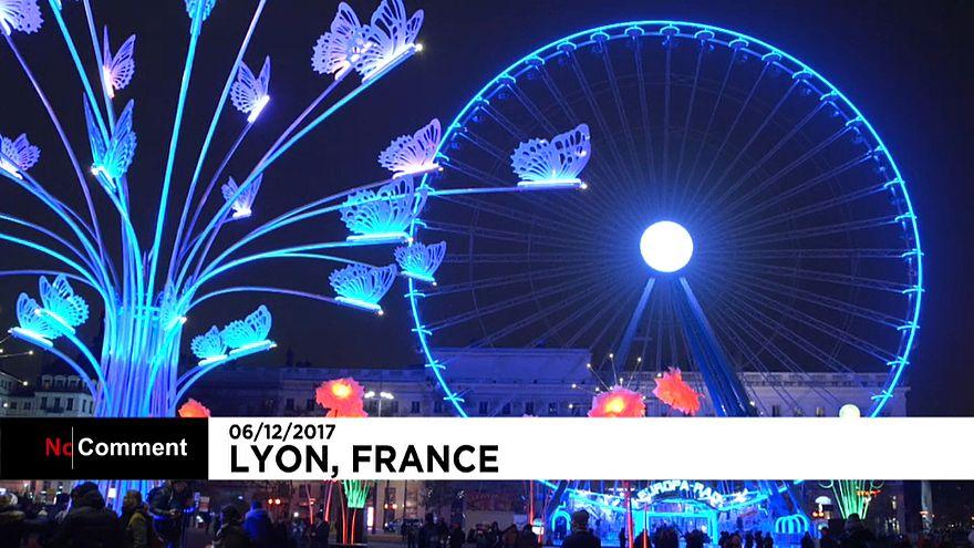 Lyon'da 'Işık Festivali'
