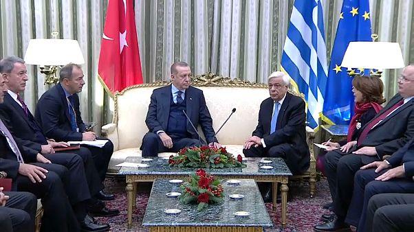 Dopo 65 anni la prima visita di stato di un presidente turco ad Atene
