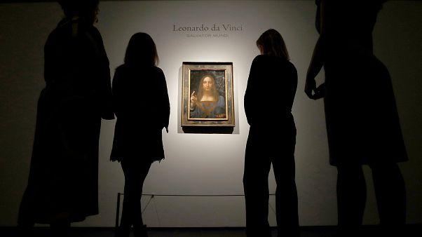 """Salvator Mundi"" no Louvre de Abu Dhabi"