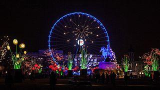 Ragyogó színek az éjszakában – kezdődik a Fények Fesztiválja Lyonban