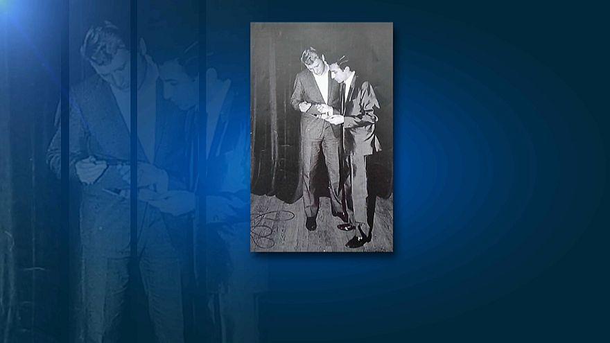 Rock star Johnny Hallyday leaves his mark on Turkey
