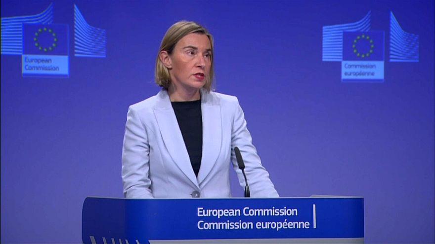 EU-Außenbeauftragte Federica Mogherini in Brüssel