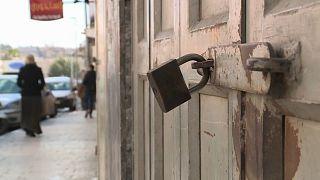 Жизнь в Восточном Иерусалиме замерла