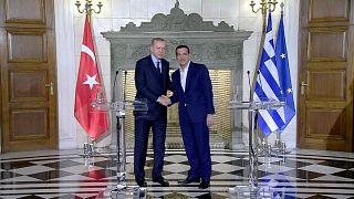Erdoğan ve Çipras'ın Lozan tartışması