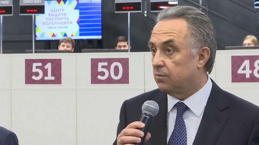 Vitaly Mutko garante que suspensão não afeta o seu trabalho no futebol