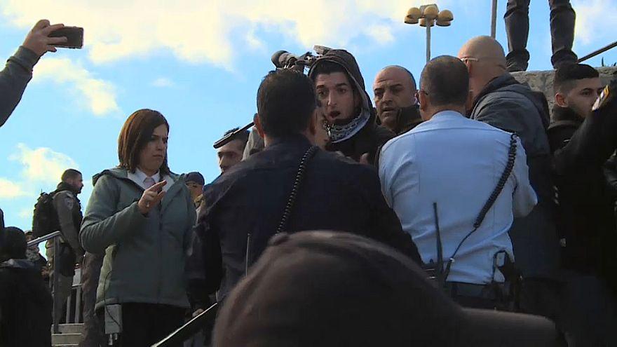 Flisitinliler Kudüs için eylemde: İsrail polisi ile gerginlik