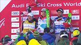 Skicross: deux Français sur le podium de Val Thorens