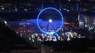 """Огни большого города: """"Праздник света"""" в Лионе"""