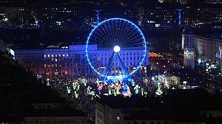 France: Lyon's Fete des Lumieres gets underway