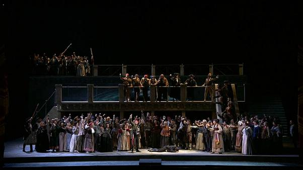 La Scala season opens with rare work that wows the crowd