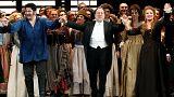 """""""Andrea Chénier"""" ovationné à l'ouverture de La Scala de Milan"""