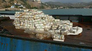 Έξι τόνους κατεργασμένης κάνναβης κατέσχεσε το Λιμενικό