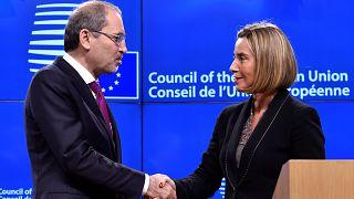 الاتحاد الاوروبي والاردن لن يتخليا عن اقامة دولة فلسطينية
