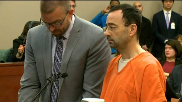 Larry Nassar condenado a 60 años de cárcel