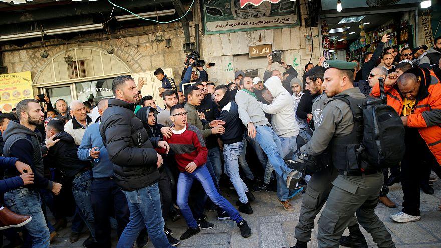 Affrontement dans le Vieux-Jérusalem