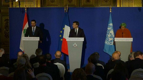 Paris'te Lübnan'a destek konferansı