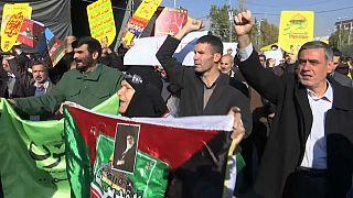 Manifestaciones de musulmanes en todo el mundo contra Trump