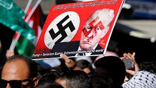 Массовые акции протеста мусульман