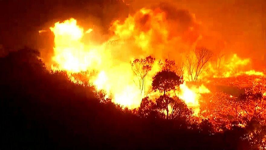 Kaliforniya yangını San Diego kentine sıçradı