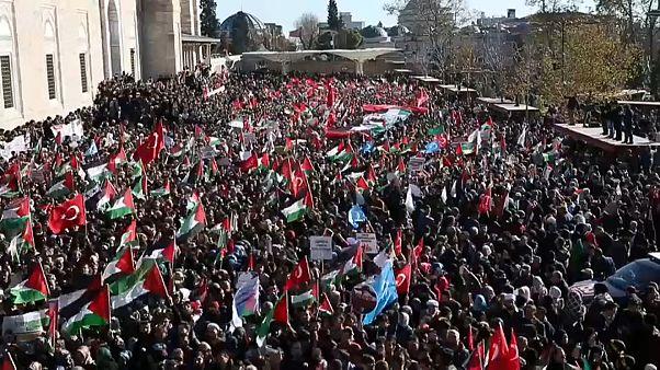 Proteste gegen USA und Israel