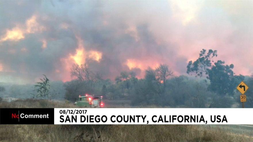 Brände in Kalifornien: Notstand für San Diego