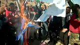 Manifestaciones de musulmanes en todo el mundo
