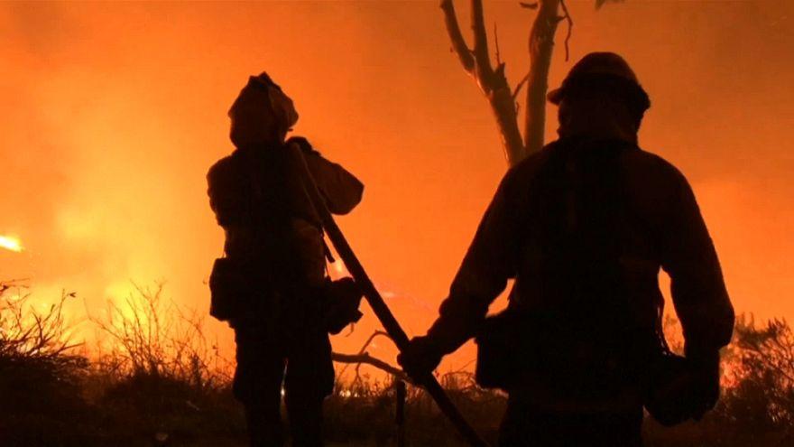 Terribles incendios en el sur de California