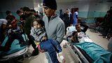 25 مصابا على الأقل جراء غارات إسرائيلية على غزة