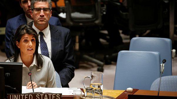 USA stehen im UN-Sicherheitsrat isoliert da