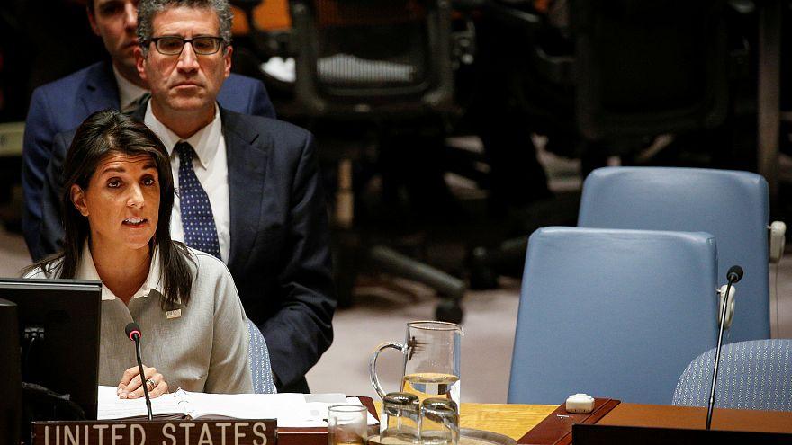 Les Etats-Unis font face au Conseil de sécurité de l'ONU