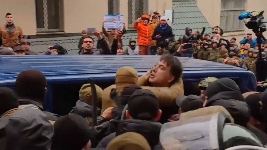 Saakashvili arrestato dalla polizia ucraina