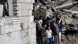 غارة للتحالف السعودي على مقر التلفزيون اليمني ومقتل 4 من الحوثيين