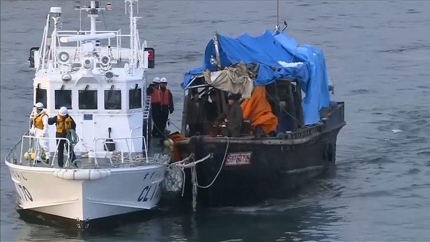 """Vor Japan: Immer mehr """"Geisterschiffe"""" aus Nordkorea"""