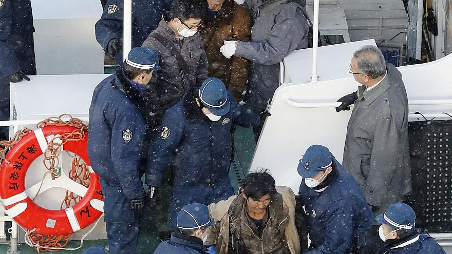 Japão detém tripulantes de embarcação norte-coreana