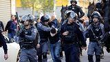 دومین روز درگیری میان معترضان فلسطینی با پلیس اسرائیل در بیتالمقدس