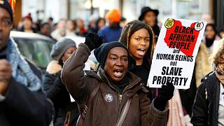 """Anti-slavery march calls on Libya to end """"crime against African humanity"""""""