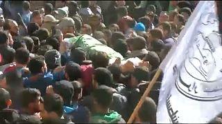 Eltemették egy izraeli légicsapás áldozatait