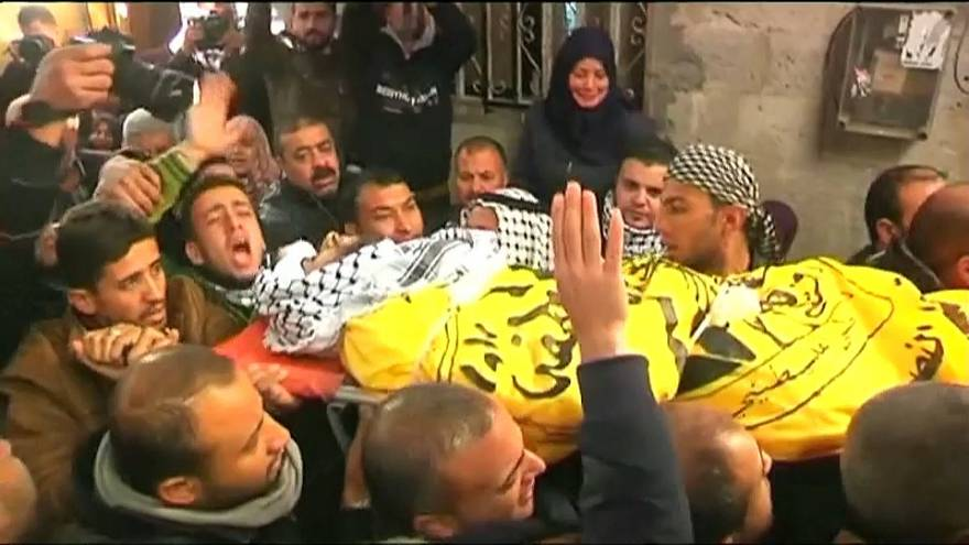 Sangre y duelo en los territorios palestinos