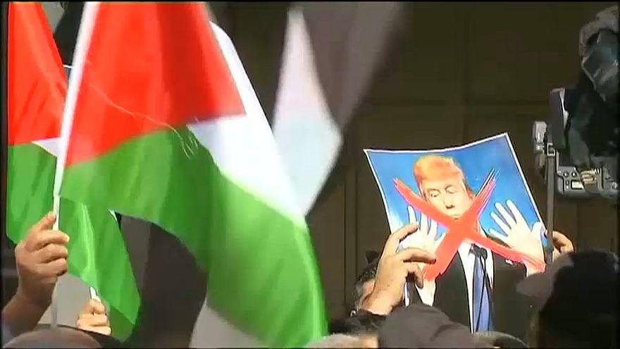Palästinenserproteste – Trump ruft zu «Ruhe und Mäßigung» auf