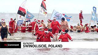 Mergulho de Pais Natal na Polónia