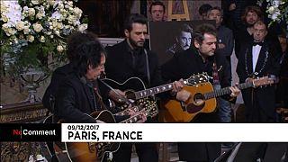 Música como tributo ao rei do rock francês