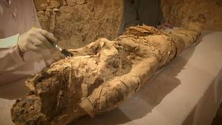Egito desvenda túmulos com mais de 3500 anos