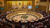 La riunione dei minstri degli Esteri della Lega Araba al Cairo.