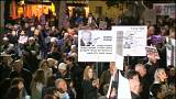 متظاهرون ضد الفساد في تل أبيب