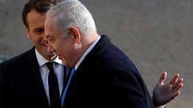 آنچه نتانیاهو در دیدار با ماکرون درباره ایران گفت