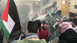 L'ambassade américaine à Beyrouth cible des pro-Palestiniens