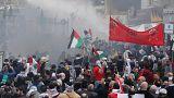 Столкновения у посольства США в Ливане